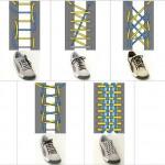 38 способов красиво и оригинально завязать шнурки
