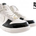 Married to the Mob [женская модель] — тюнинг Nike Dunk High Supreme