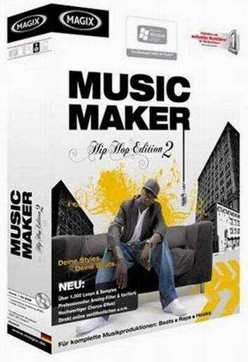 music maker Программа для создания музыки Music Maker Hip Hop Edition 2