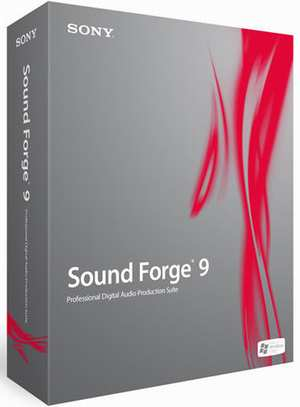 Sony Sound Forge 9.0 build 443