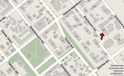 Карта 2-го комплекса ЗНУ