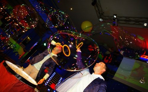 Заказ шоу мыльных пузырей в Запорожье