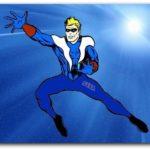 Sega — первый супергерой-танцор | часть будущего комикса