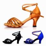 Женская обувь для сальсы и спортивно-бальных танцев